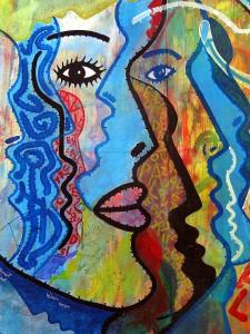 Cubism style art, Paris Art, www.theeducationaltourist.com