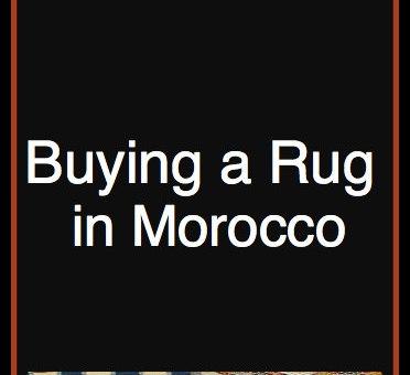 Morocco Area Rug