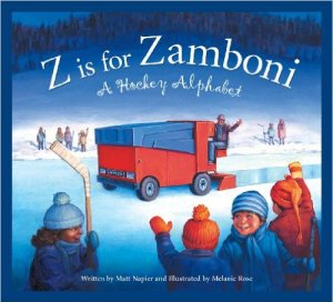 Z is for Zamboni by Matt Napier, Kids' Books set in Canada, www.theeducationaltourist.com