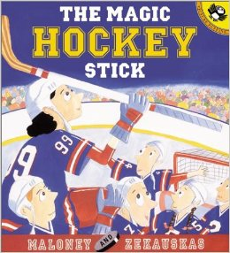 The Magic Hockey Stick, Kid's Books Set in Canada, www.theeducationaltourist.com