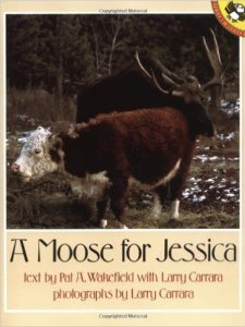 A Moose for Jessica by Pat A Wakefield, Books set in Canada, www.theeducationaltourist.com