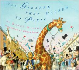 The Giraffe that walked to Paris: Kids' Books set in Paris www.theeducationaltourist.com
