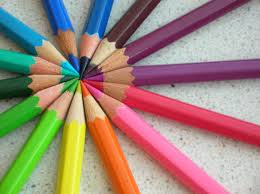 colored pencils, Travel Activities for KIDS using paper, www.theeducationaltourist.com