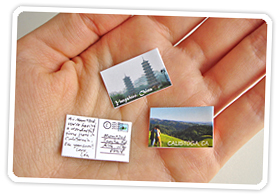 make-worlds-smallest-photo-postcard photo from Photojojo, Road Trip Activities, www.theeducationaltourist.com
