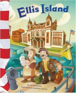 Ellis Island (American Symbols) Kids' Books Set in New York City, www.theeducationaltourist.com