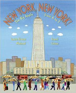 New York, New York: The Big Apple A to Z, Kids' Books set in New York City, www.theeducationaltourist.com