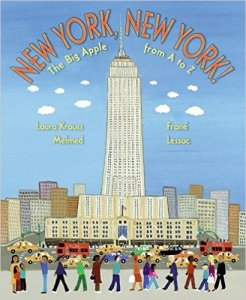 New York, New York: The Big Apple A to Z, Kids' Books set in New York City, www.theeducationaltourist.com