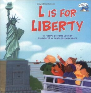 L is for Liberty, Kids' Books set in New York City, www.theeducationaltourist.com