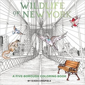 Wildlife of New York: A Five-Borough Coloring Book, Kids' Books Set in New York City, www.theeducationaltourist.com