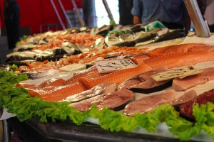 fresh fish at european market, Christmas in Italy, www.theeducationaltourist.com