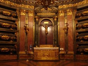 Tombs at El Escorial, Visit Madrid, www.theeducationaltourist.com