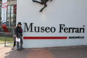 The Ferrari factory and museum was just a hop, skip,and a jump away from Bologna.