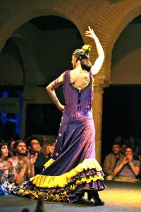 Live flamenco dancing show was amazing