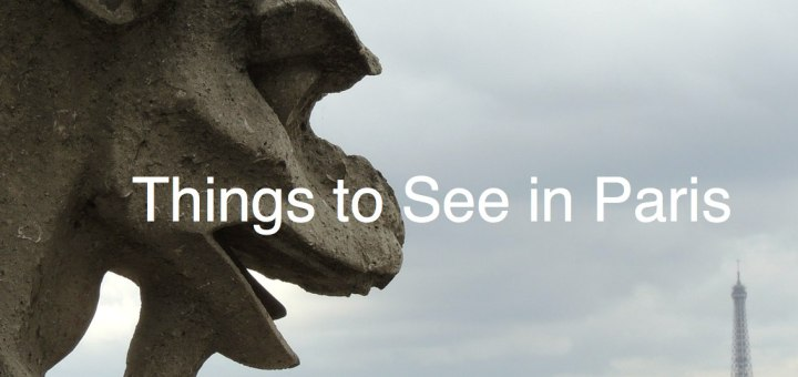 Gargoyle, Things to See in Paris, www.theeducationaltourist.com