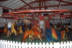 Flying Horses Carousel in Martha's Vineyard. Oldest carousel in the US.