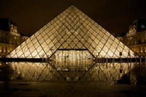 Pyramid at the Louvre, Things to See in Paris, www.theeducationaltourist.com