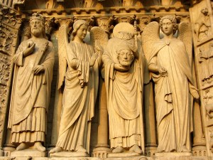 St. Dennis at Notre Dame, Things to See in Paris, www.theeducationaltourist.com