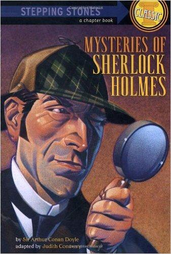 Mysteries of Sherlock Holmes, Kids' Books Set in London, www.theeducationaltourist.com