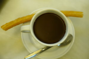 Churros and chocolate, Visit Madrid, www.theeducationaltourist.com
