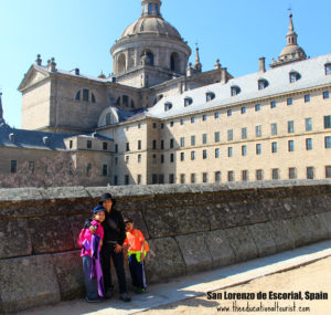 El Escorial, Visit Madrid, www.theeducationaltourist.com