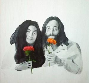 John and Yoko married in Gibraltar.