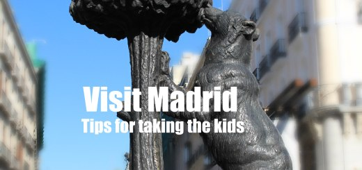 Bear statue in Plaza del Sol in Madrid, Visit Madrid, www.theeducationaltourist.com