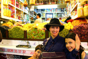 The Educational Tourist in Tangier market, Travel with intention, www.theeducationaltourist.com