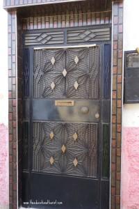 metal door Tangier Morocco