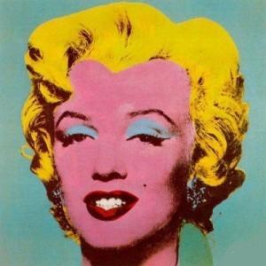 Art painting Warhol Marilyn Monroe