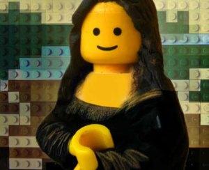 art mona-lisa-lego