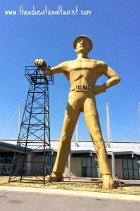 Tulsa Visit: Golden Driller Tulsa