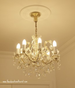 chandelier, Sari Konak Hotel in Istanbul, www.theeducationaltourist.com