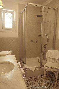 shower, Sari Konak Hotel in Istanbul, www.theeducationaltourist.com