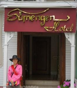Sumengen Hotel entrance, Sumengen Hotel in Turkey, www.theeducationaltourist.com