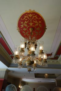 chandelier Sirkeci Mansion Istanbul hotel, www.theeducationaltourist.com