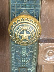 doorknob Texas star detail Capitol Building
