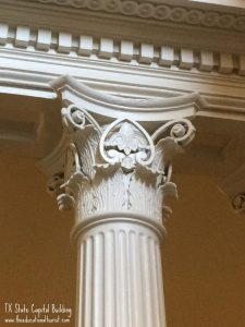 column TX capitol