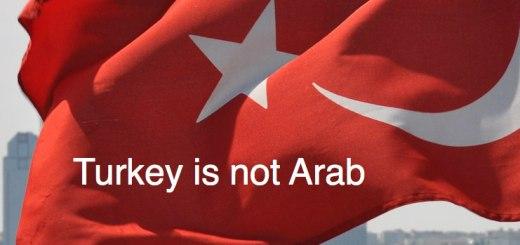 Turkish flag, Turkey is not Arab, www.theeducationaltourist.com