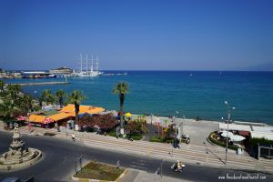 View from room Ilayada Hotel Kusadasi, www.theeducationaltourist.com