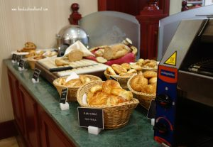breakfast buffet, Sirkeci Mansion hotel Istanbul, www.theeducationaltourist.com