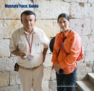 Guide Underground city of Kaymakli Turkey