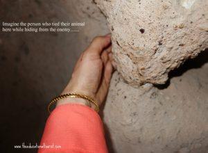 Inside underground city Kaymakli Turkey UNESCO