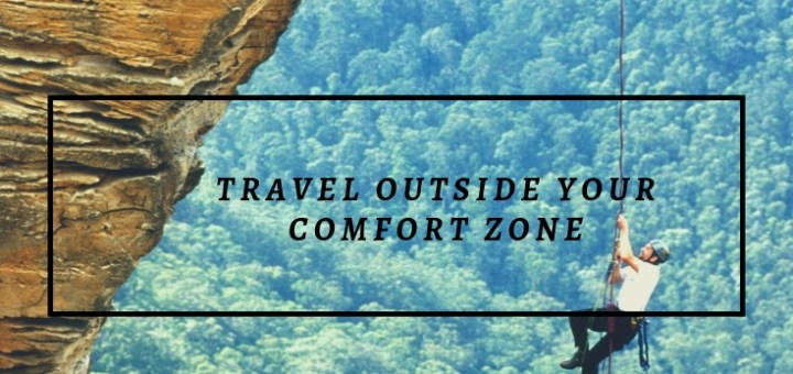 rock climbing, get outside your comfort zone