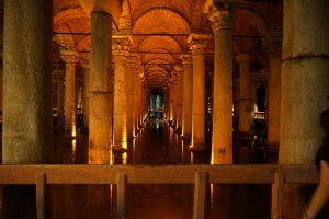 Turkey Photo Essay underground cistern in Istanbul