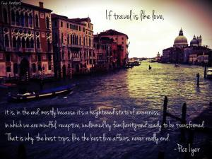 Travel Quote travel.is.like.love