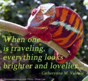 Travel quote travel.sights.lovelier.brighter