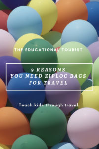Use Ziploc Bags for every family vacation