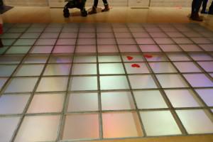 Philbrook Museum: disco floor
