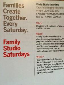 Philbrook Museum: Family Studio Saturday