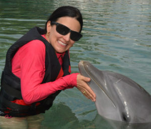 The Educational Tourist and dolphin, Swim with dolphins, www.theeducationaltourist.com